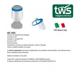 Visiera professionale made in Italy