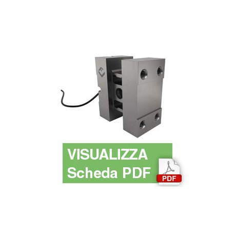 PC5H  Single Point Load Cell (2,000Kg)