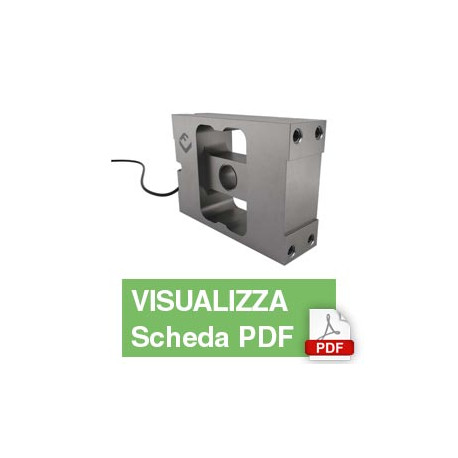 PC6H  Single Point Load Cell (2,000Kg)