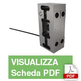 PC7H  Single Point Load Cell (1,000Kg)